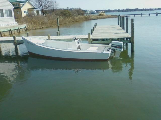 RIONHOLDT 18' Traditional Chesapeake Bay NEW Deadrise Skiff