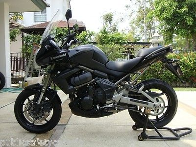 Kawasaki : Other MINT 2011 KAWASAKI VERSYS KLE650 BLK 3000KM W/$4000 IN UPGRADES! GTA PICKUP