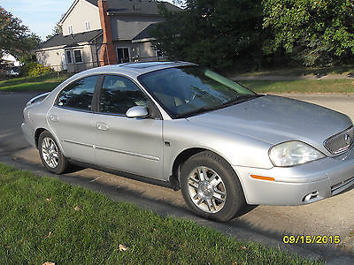 Mercury : Sable LS 4 dr sedan ls premium automatic gasoline 3.0 l dohc v 6 cyl silver local pickup