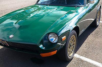 Datsun : Z-Series 1970 datsun nissan 240 z series one