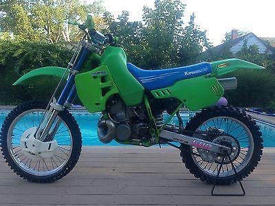 Kawasaki : KX 1992 kx 500