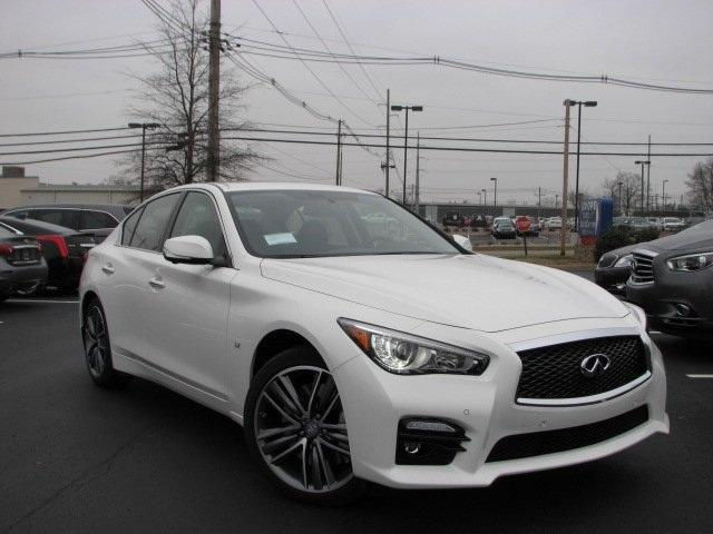 Infiniti : Other Sport 2015 q 50 sport deluxe touring management demo moonlight white