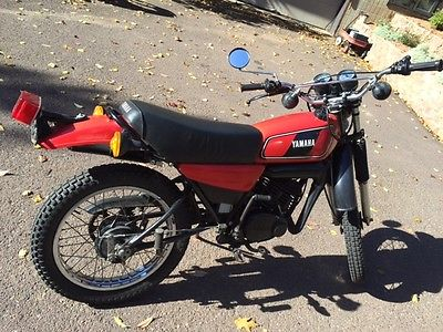 Yamaha : Other 1978 yamaha dt 175 enduro motorcycle dirt street bike