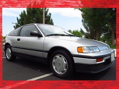Honda : CRX Si Coupe 2-Door 1989 honda crx si only 39 k original miles cold factory a c stock original