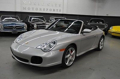 Porsche : 911 Carrera 4S 2004 carrera 4 s conv one owner only 16 459 miles