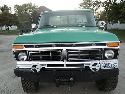 Ford : F-250 76 highboy purchased from adam largent ebayer ccr 05