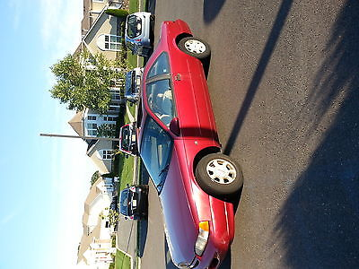 Ford : Thunderbird coupe 2 doors Ford Thunderbird 1994 4.6L coupe 2doors red, no rust at all