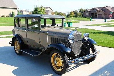 Ford : Model A Fordor 1930 ford model a fordor