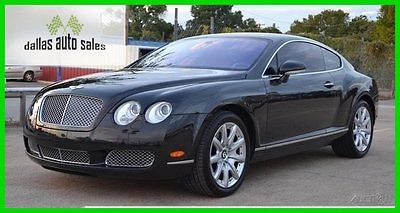 Bentley : Continental GT GT Coupe 2-Door 2004 bentley continental gt turbo 6 l w 12 automatic awd navigation heated seats