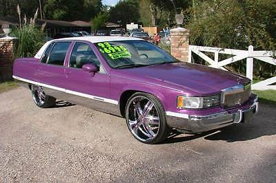 Cadillac : Fleetwood Base 4dr Sedan 1993 cadillac fleetwood