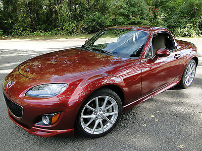 Mazda : MX-5 Miata Grand Touring Convertible 2-Door 2012 mazda mx 5 miata grand touring low miles like new clear title