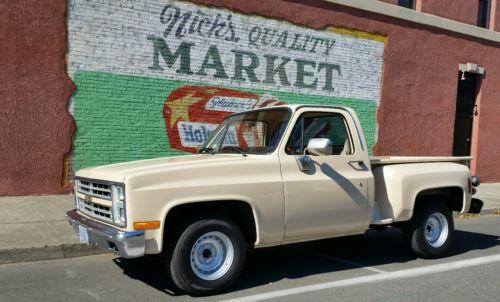 Chevrolet : Other Pickups K1500 Restored 1985 GMC/Chevy K1500 Short bed Stepside 2wd Super Clean L@@K