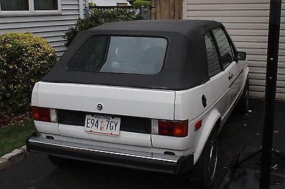 Volkswagen : Rabbit Cabriolet 1980 volkswagen rabbit convertible cabriolet w gti wheels techtonics exhaust