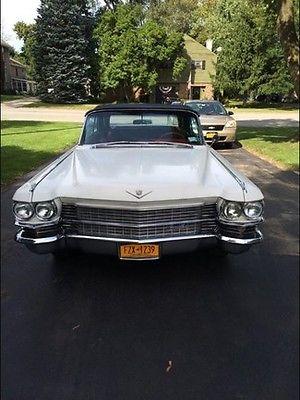 Cadillac : Other 2 Door Convertible 1963 cadillac 62 2 door convertible complete rebuilt 390 325 hp engine receipts