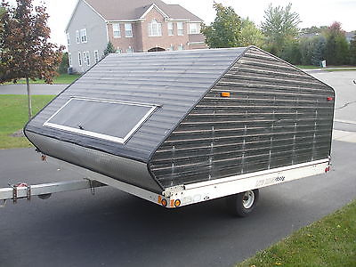 2002 Rance 8X10SLT Enclosed 2 place Snowmobile or ATV trailer