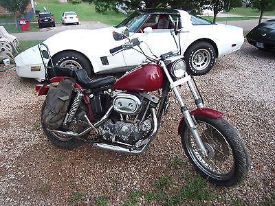 Harley-Davidson : Sportster 1973 harley davidson sportster