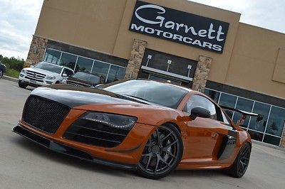 Audi : R8 5.2L COUPE * RARE EXOTIC CAR! OVER $200K INVESTED! MUST SEE! 2011 audi r 8 5.2 v 10 rare car inspected by audi 200 k invested