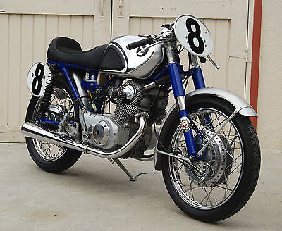 Honda : CB 1963 honda cb 77 superhawk restored and ready to race fast exquisite