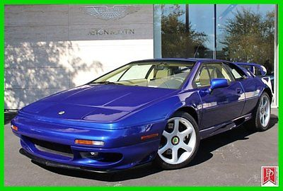 Lotus : Esprit Turbo 2000 lotus esprit v 8 3.5 l v 8 twin turbo 5 speed 2 439 miles collectible