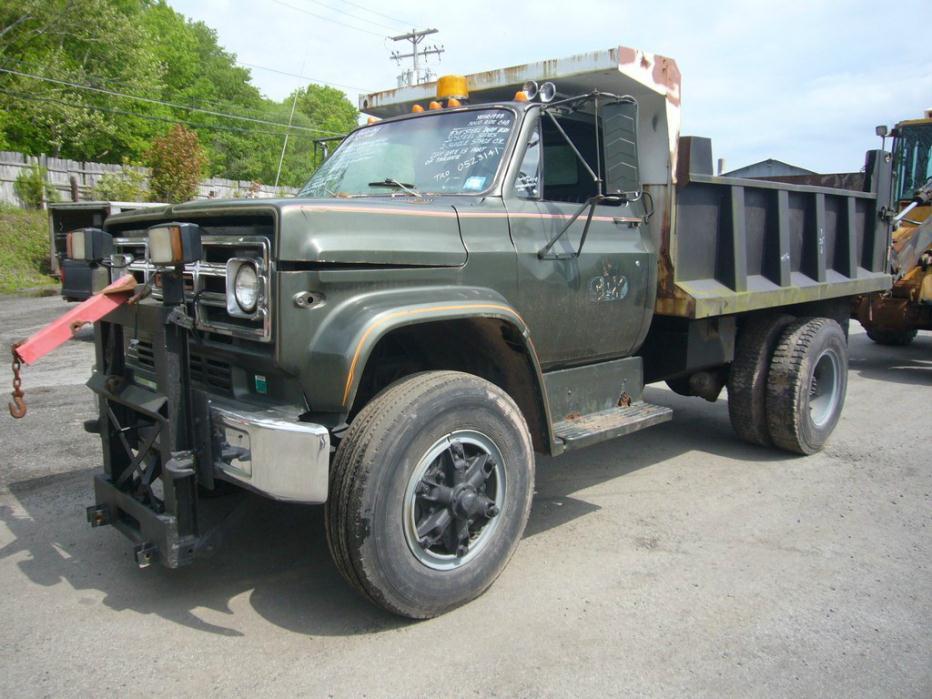 1988 Gmc Dump Truck