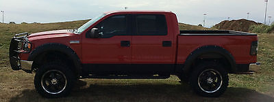 Ford : F-150 XLT 2005 lifted f 150 supercrew short bed truck 4 x 4