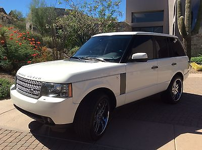 Land Rover : Range Rover HSE LUX Immaculate One Owner Scottsdale Arizona White 2010 Land Rover Range Rover HSE