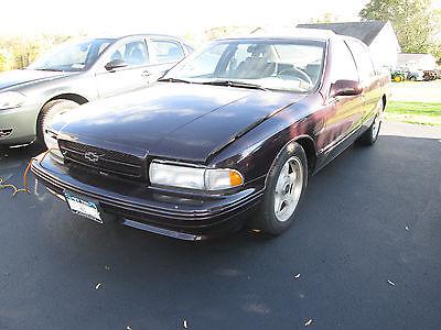 1995 Chevrolet Impala SS Dark Cherry