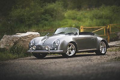 Porsche : 356 Speedster 1957 porsche speedster cabriolet 356 flared sc replica by jps motorsports