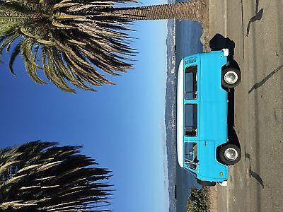 Volkswagen : Bus/Vanagon Micro BUS VW BUS 1978 BLUE Excellent condition