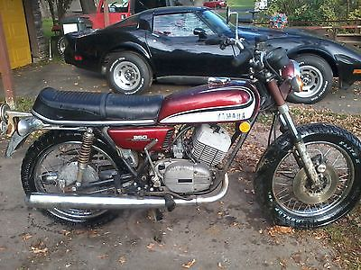 Yamaha : Other 1973 yamaha rd 350 10 200 actual miles have title been sitting motor turns over