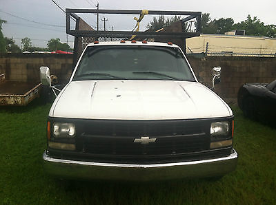 Chevrolet : Silverado 3500 2 Door 1999 chevy work truck 115 k cold air good tires hitch and tool boxes