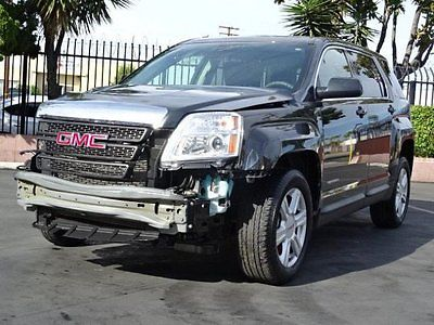 GMC : Terrain SLE  2014 gmc terrain sle wrecked rebuilder priced to sell perfect project l k