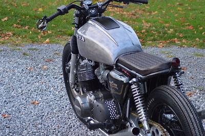 Honda : CB 1978 honda cb 750 vintage cafe racer bratstyle brat bike caferacer