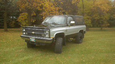 Chevrolet : Blazer K5 1983 chevrolet k 5 blazer
