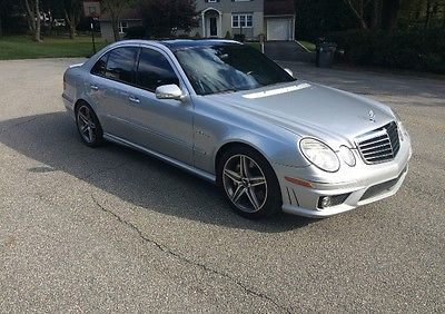 Mercedes-Benz : E-Class Base Sedan 4-Door 2007 mercedes benz e 63 amg base sedan 4 door 6.2 l
