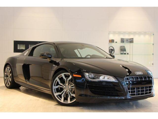 Audi : R8 5.2L 5.2 l b o sound carbon blade carbon interior nav rear cam r tronic clean