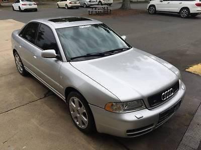 Audi : S4 2001 audi s 4 manual silver with black interior