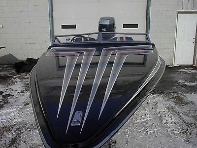 Hydrostream viper vector ventura valero vision speed ski boat 200hp Evinrude