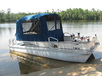 2007 Sun Catcher G3 Pontoon Boat 208 Fish & Cruise - 4-Stroke *LOW HRS*