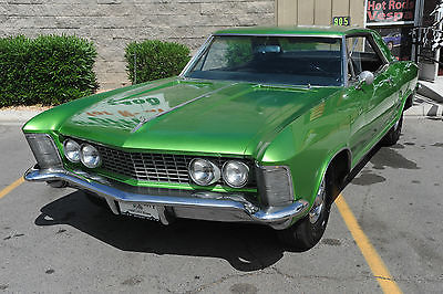 Buick : Riviera 1964 buick riviera vegas car nailhead motor runs strong straight body nice dash