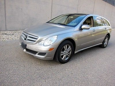 Mercedes-Benz : R-Class R500 2006 mercedes r 500 4 matic all wheel drive big panoramic sunroof low miles