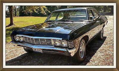 Chevrolet : Impala 4 door sedan Supernatural 1967 Chevy Impala, 1