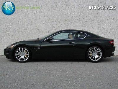 Maserati : Gran Turismo Base Coupe 2-Door 131 840 msrp alcantara navi bose skyhook heated seats 20 s 1 owner 12 k miles