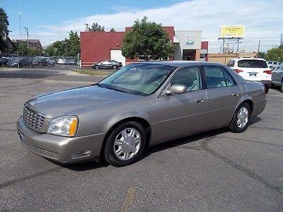 Cadillac : DeVille Sedan 2004 cadillac deville only 40 k miles