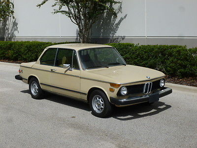 BMW : 2002 1975 bmw 2002 california car automatic air conditioning