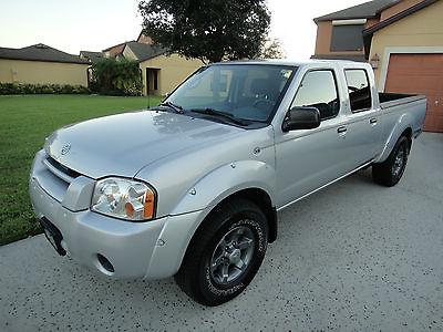 Nissan : Frontier XE Crew Cab Pickup 4-Door 2004 nissan frontier ex v 6 crew cab 1 owner low miles florida beauty garaged