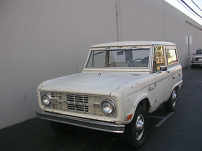 Ford : Bronco Sport 1968 original uncut early classic ford bronco sport