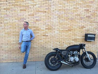 Honda : CB 1976 honda cb 550 special like new cafe cruiser