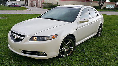 Acura : TL TL TYPE-S. TL TYPE-S PEARL WHITE. 5 SPEED AUTO/MANUAL, NAV, CAM, 6CD, B-TOOTH, LOADED