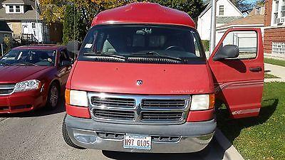 Dodge : Ram Van Ram van B1500 2001 dodge ram 1500 van base standard cargo van 3 door 5.2 l
